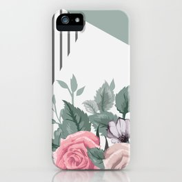 FLOWERS IX iPhone Case