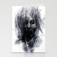 silent hill Stationery Cards featuring Silent by Gyossaith