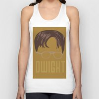 dwight Tank Tops featuring Dwight and you by Ally Simmons