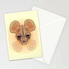 War mask Stationery Cards