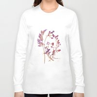 botanical Long Sleeve T-shirts featuring Botanical 1 by JoanAHamilton
