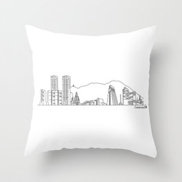 Skyline - Caracas Throw Pillow