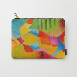Portrait Girl Carry-All Pouch