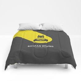 Flat Christopher Nolan movie poster Comforters
