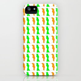 flag of ireland-ireland,eire,airlann,irish,gaelic,eriu,celtic,dublin,belfast,joyce,beckett iPhone Case
