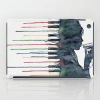 piano iPad Cases featuring Piano by Veronika Neto