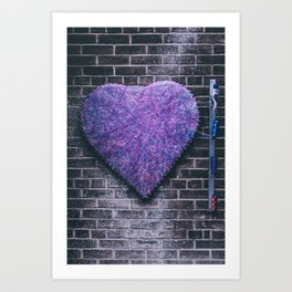 Woven Heart Art Print