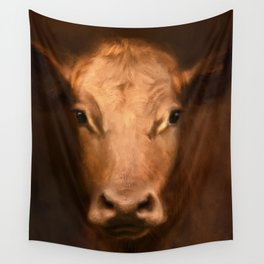 Cow 187 Wall Tapestry