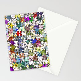 Jigsaw junkie Stationery Cards