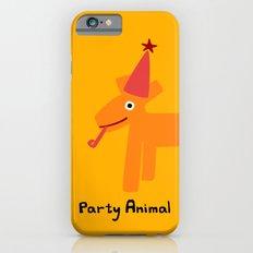 Party Animal-Orange iPhone 6s Slim Case