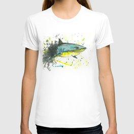 Shark - Watercolor Painting T-shirt