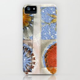 Goondie Fact Flower  ID:16165-095608-32641 iPhone Case