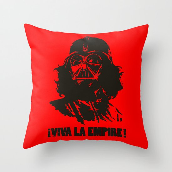 Viva la Empire! Throw Pillow