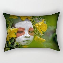 Suri Green Rectangular Pillow