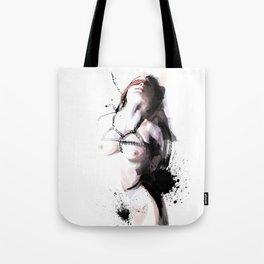 Shibari - Japanese BDSM Art Painting #3 Tote Bag