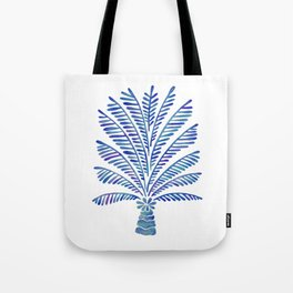 Palm Tree – Navy Palette Tote Bag