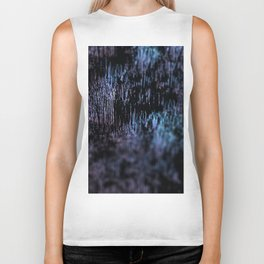Abstract landscape material structure grunge art design colorful intricate pattern textured backgrou Biker Tank