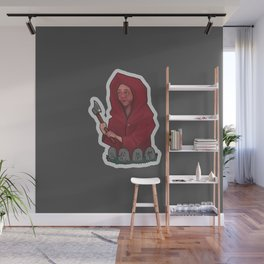 Red Hat Wall Mural