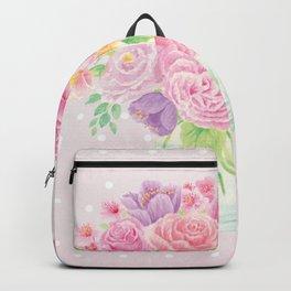 Blossom bird Backpack