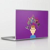 nerd Laptop & iPad Skins featuring Nerd by Mouki K. Butt