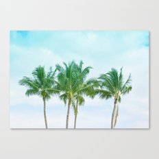 Hawaii Palm Trees Canvas Print