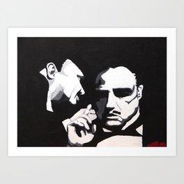 The Godfather - Secrets Art Print