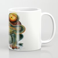 frog Mugs featuring Frog by Riccardo Pertici