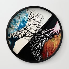The Knowledge of Good and Evil  Wall Clock