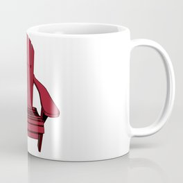 Sit back and relax in the Muskoka Chair Coffee Mug