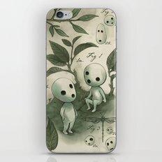 Natural Histories - Forest Spirit studies iPhone Skin