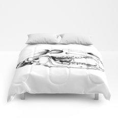 Bear Skull Comforters