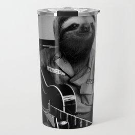 Rockstar Sloth 3 Travel Mug