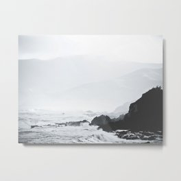 The Cliffside Metal Print
