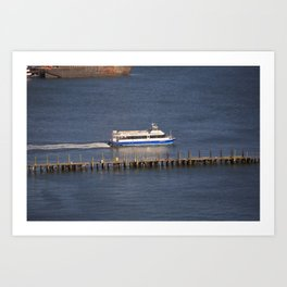 New York City Water Taxi 2012 Art Print