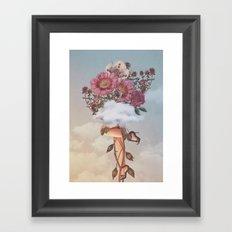 Queen Crown Framed Art Print