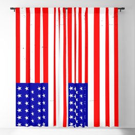Civil War Union Flag Blackout Curtain