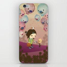 Balloon Tree Song iPhone Skin