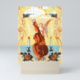 MYSTIC CELLO Mini Art Print