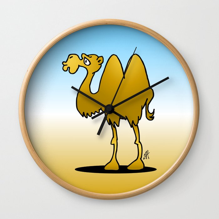 Camel Wall Clock