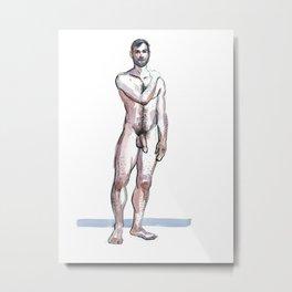 RYAN, Nude Male by Frank-Joseph Metal Print