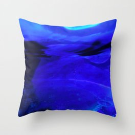 Blobs 4 Throw Pillow