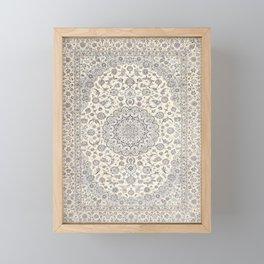 Bohemian Farmhouse Traditional Moroccan Art Style Texture Framed Mini Art Print