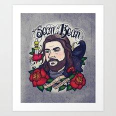 Sean Bean Art Print