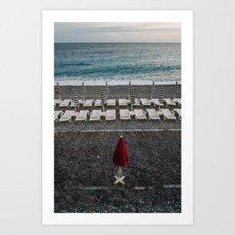 Red Nice Art Print