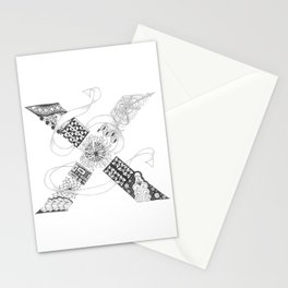 "Zenletter ""X"" Stationery Cards"