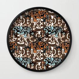Diceros Bicornis Wall Clock