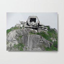 Sugarloaf Mountai Metal Print
