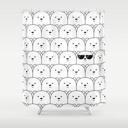 That Cool Polar Bear Shower Curtain