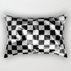 Chequered Flag Rectangular Pillow