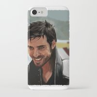 hook iPhone & iPod Cases featuring Hook by MagnoliaRuby